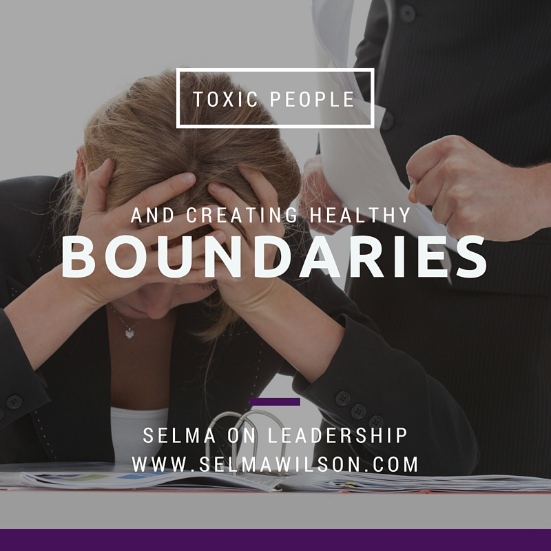 Toxic People and Boundaries in the Workplace