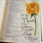 Getting Started with Bible Art Journaling